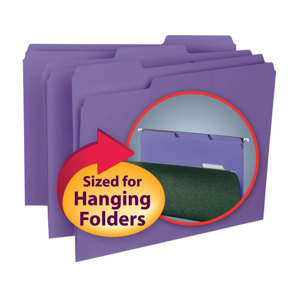 Smead 10283 Interior Folders Expanding File