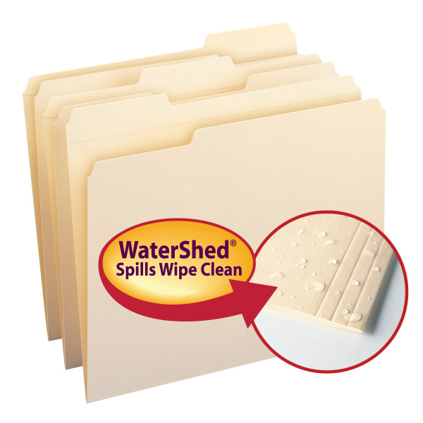 Smead 10314 WaterShed Folder (Bundle: 5 BX) File Jacket