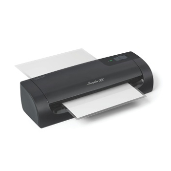 "Swingline Fusion 1000L 9"" Laminator swingline, black, fusion 1000l 9 laminator, hot laminator, 3 mil to 5 mil, swingline, hot, readyindicator light, pouch, 5 minute, swi1703072, 033816500242, 44102801"