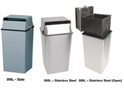 Witt 008L Classic Security Containers-Almond, Slate, Steel