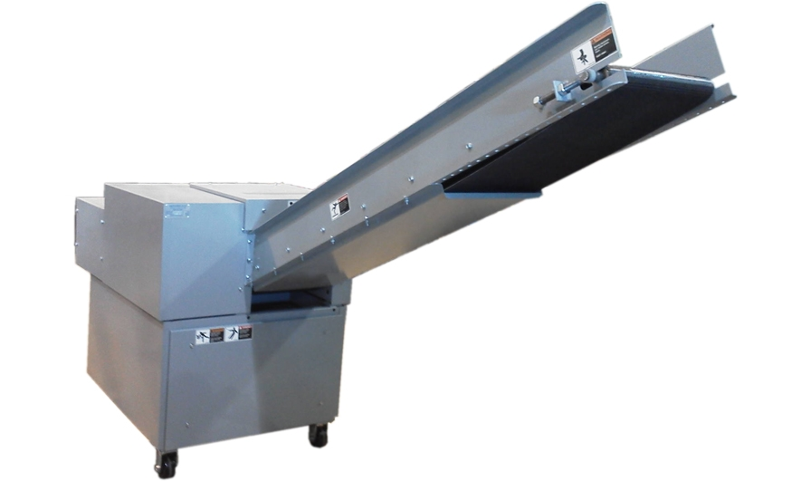 Ameri-Shred Attached Output Conveyor Discharge