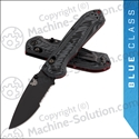 "Benchmade 560SBK-1 Freek Folding Knife 3.6"" Serrated Black CPM-M4 Blade Gray and Black G10 Handle"