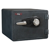 FireKing KY0913-1GRCL Combo Dial Fire Proof Business Safe, 3 Locking Bolts