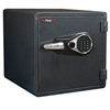 FireKing KY1313-1GREL Electronic Fire Proof Business Safe, 4 Locking Bolts