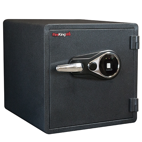 FireKing KY1313-1GRFL Fingerprint Fire Proof Business Safe, 4 Locking Bolts FireKing KY1313-1GRFL Fingerprint Fire Proof Business Safe, 4 Locking Bolts
