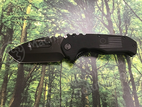 Medford Praetorian Scout D2 PVD Blade Tanto Grind Black G10 Handle & Spring Stainless PVD Hardware PVD Clip No Breaker Medford Praetorian Scout D2 PVD Blade Tanto Grind Black G10 Handle & Spring Stainless PVD Hardware PVD Clip No Breaker