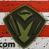 Medford Shield Velcro Patch OD Green Background with Black Shield